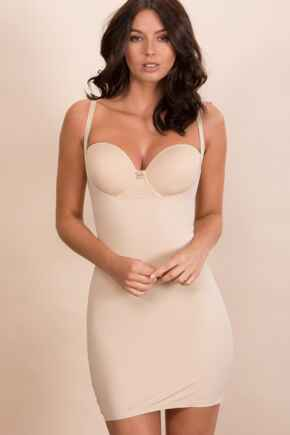 Definitions Wear Your Own Bra Control Slip - Natural