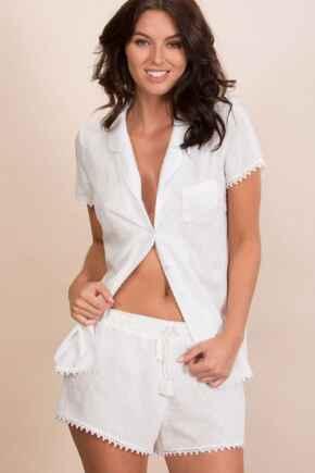 Siesta Shorts - White