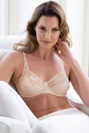 Superfit Full Cup Underwired Bra - Natural