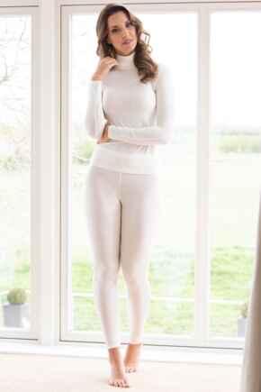 Second Skin Thermal Leggings - Ivory