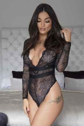 India Long Sleeve Body - Black