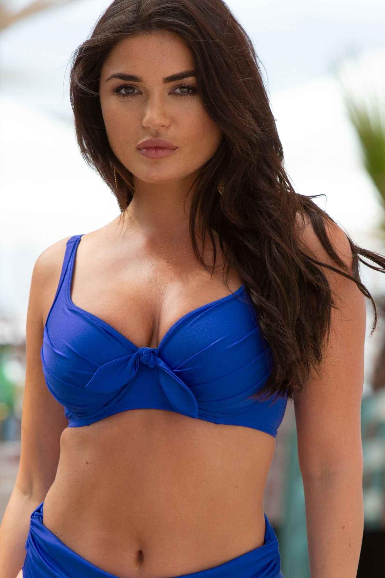Pour Moi? Damen Azure Underwired Lined Non Padded Top Bikinioberteil Blau Herstellergr/ö/ße: 36G 80H Deep Blue Deep Blue