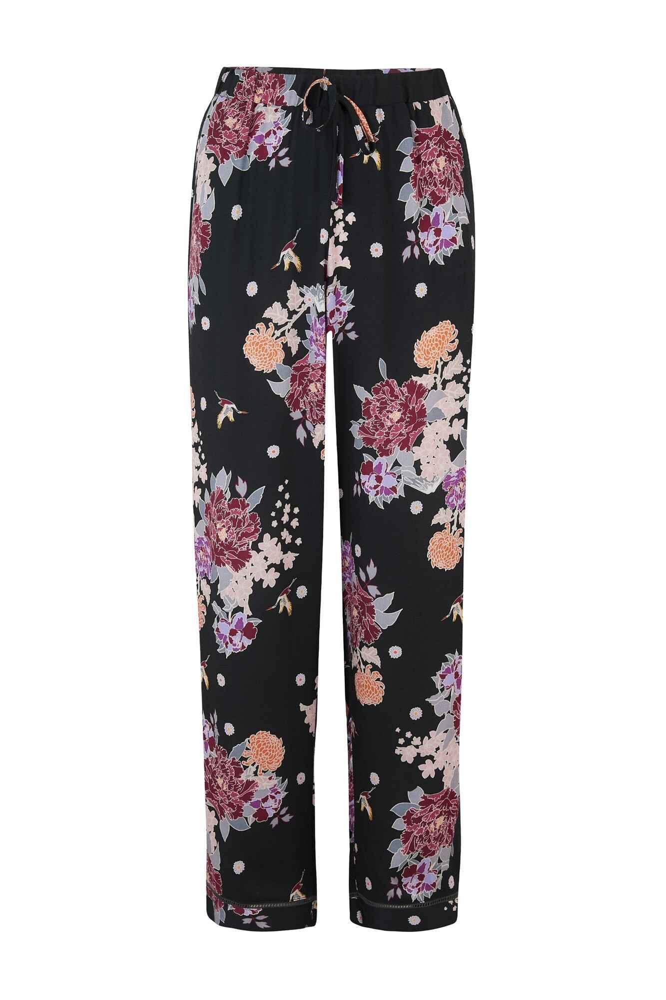 Womens Tropics Crop Trouser Pyjama Bottoms Pour Moi